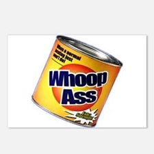 Funny Can Of Whoop Ass Postcards (Package of 8)