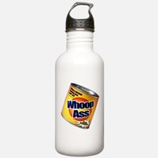 Funny Can Of Whoop Ass Water Bottle