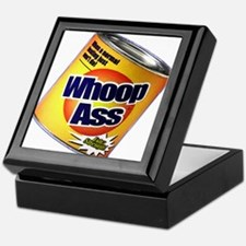 Funny Can Of Whoop Ass Keepsake Box