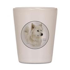 American Eskimo Dog Gifts Shot Glass