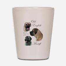 Old English Mastiff Shot Glass
