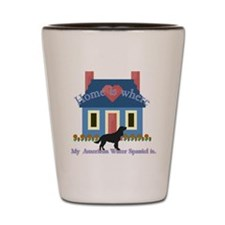 Am. Water Spaniel Home Is Shot Glass
