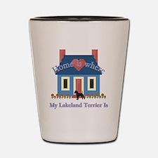 Lakeland Terrier Home Shot Glass