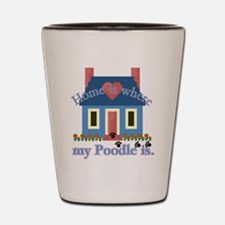 Poodle Lovers Gifts Shot Glass