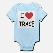 I heart Trace Infant Bodysuit