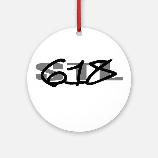 St. Louis 618 Ornament (Round)
