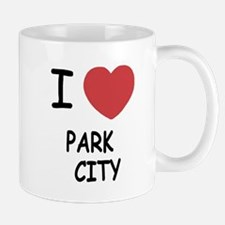 I heart park city Mug