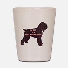 BFF Black Russian Terrier Shot Glass