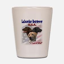 Labrador Retriever Gifts Shot Glass