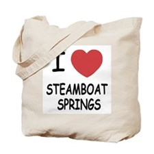 I heart steamboat springs Tote Bag