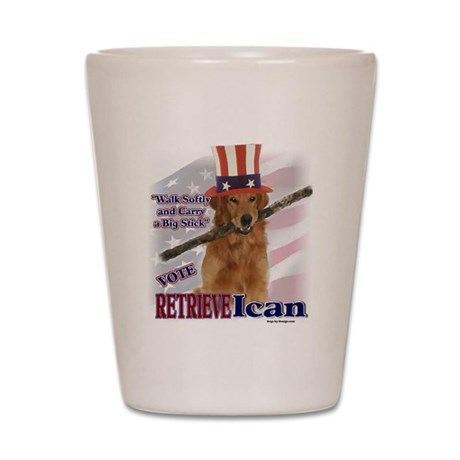 RETRIEVEican Shot Glass
