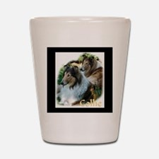 Collie Art Gifts Shot Glass