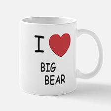 I heart big bear Mug