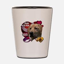 Cute Dog art Shot Glass