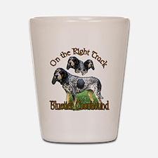 Bluetick Coonhound Shot Glass