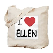 I heart ellen Tote Bag