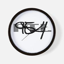 Fort. Lauderdale 954 Wall Clock