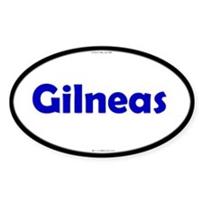 Gilneas Blue Server Oval Decal