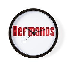 Hermanos Wall Clock