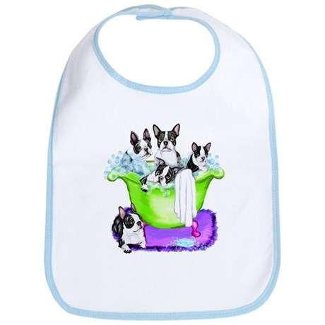 Boston Terrier TubFull Bib
