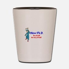 New Ph.D. Shot Glass