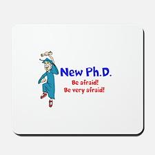 New Ph.D. Mousepad