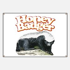 Honey Badgers Banner