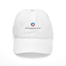Funny Bush hates obama Baseball Cap