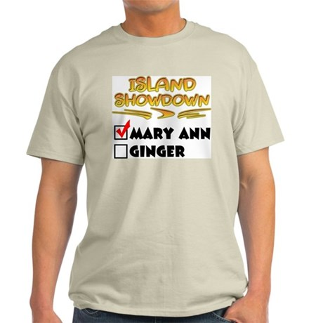 Island Showdown Ash Grey T-Shirt
