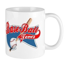 BaseBall Fever Flaged black o Mug