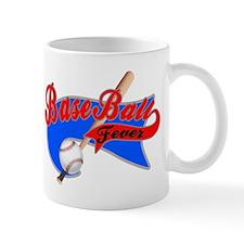BaseBall Fever Flaged Blue Gr Mug