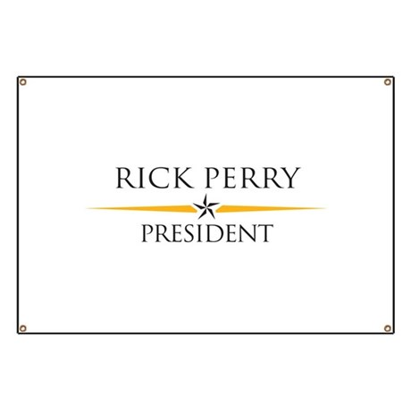 Perry for President Banner
