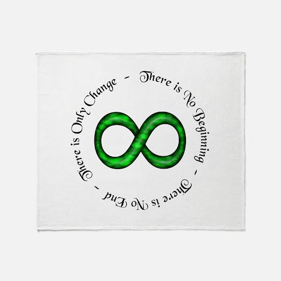 Infinite Change Throw Blanket