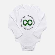 Infinite Change Long Sleeve Infant Bodysuit