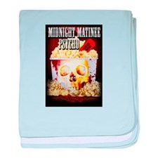 Midnight Matinee Psycho baby blanket