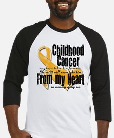 Unique Childhood cancer Baseball Jersey