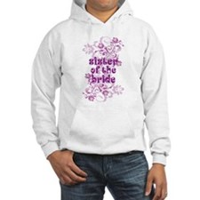 Sister of the Bride Swirl Hoodie