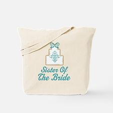 Sister of the Bride Wedding Cake Tote Bag