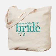 Sister of the Bride Swirl Tote Bag