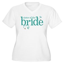 Sister of the Bride Swirl T-Shirt