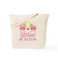Sister of the Bride Ladybug Tote Bag
