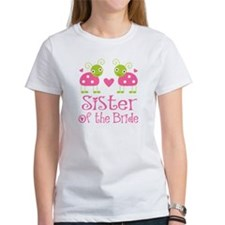 Sister of the Bride Ladybug Tee