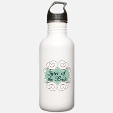 Sister of the Bride Beautiful Water Bottle