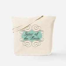 Sister of the Bride Beautiful Tote Bag