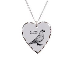 Ye Olde Homer Necklace Heart Charm