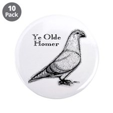 "Ye Olde Homer 3.5"" Button (10 pack)"