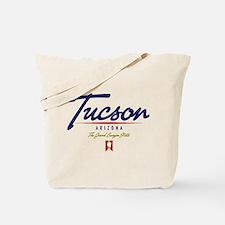 Tucson Script Tote Bag