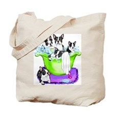 Boston Terrier TubFull Tote Bag