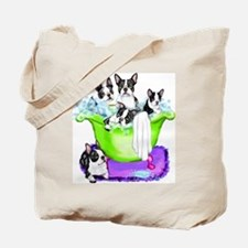 Boston Terrier TubFull Tote Bag