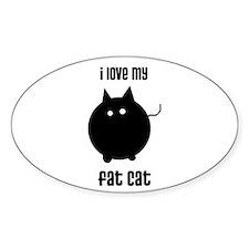 Fat Cat Decal
